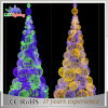Large Big Blue Artificial Christmas Outdoor Decorated LED Ball Tree