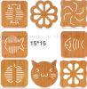 OEM Creative Engrave Wooden Pot Cup Mat Coaster
