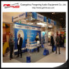 Indoor Lighting Exhibition Booth Truss Design 3X3X3m Size Optional