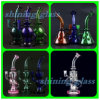 Shining Glass Water Pipes with Swiss Percolator for Tobacco Smoking