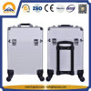 Aluminum Beauty Trolley Case for Nail Arts (HB-6341)