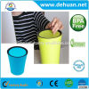 Candy Color Plastic Waste Bin Simple and Beautiful Plastic Dustbin Household Indoor Plastic Waste Bin