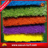 Colorful Grass for Palyground, Tennis Fields Soft Artificial Grass
