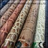 Embossed Printting Crocodile PVC PU Leather for Lady Handbag, Sofa and Furniture Upholstery