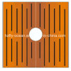 Fo-9t03 Square Corten Steel Tree Perforated Strainer for Outdoor Decoration