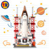 Space Shuttle Model Blocks Toy for Children