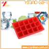 Silicone Kitchenware FDA 15cells Frozen Ice Maker Square Silicone Ice Cube Tray /Ice Cube/Ice Maker/Ice Mold