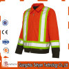 Hi Vis Reflective Waterproof Windproof Road Safety Jacket with Pockets
