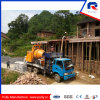 High Quality Truck Mounted Drum Concrete Mixing Pump with Batcher and Chassis