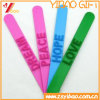 High Quality Promontional Customized Logo Silicone Slap Bracelet
