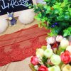 Factory Stock Wholesale 25cm Width Embroidery Nylon Net Lace Polyester Embroidery Trimming Fancy Mesh Lace for Garments Accessory & Home Textiles & Curtains