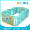 Portable Cheap Home Baby Paly Game Plastic Safety HDPE Fence Indoor Baby Playpen with Game Fence Baby Playpen