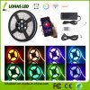 Smartphone Controlled Waterproof Optional DC12V 5m/Roll 300 LEDs 5050 SMD RGB WiFi Smart LED Strip Light Kit
