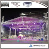 Mobile Sound and Light Truss System for Big Concert