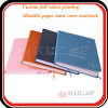 Sewing Binding Hardcover Printing Leather Cover Notebook