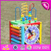 New Design Multi-Function 5 in 1 Kids Wooden Bead Roller Coaster W11b137
