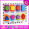 New Design Children Educational Wooden Blank Puzzle Pieces W14A165