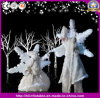 Wonderful Night Party Amazing Inflatable Stilts Performance Snowflake Costumes