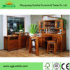 Arc Shaped High Gloss Solid Wood Office Furniture for Chairman