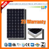 255W 156mono Silicon Solar Module with IEC 61215, IEC 61730