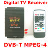 2 Tuners Car DVB-T TV Receiver for Car with 250km/H Freeview Television