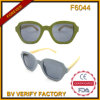 F6044 Sunglasses with Bamboo Temples