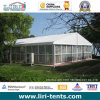 Clear Span Tent with Glass Walls on One Side