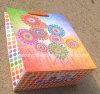 Sunflower Printing Paper Gift Bag with Decorative Shinny Diamond