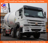 Heavy Duty 8cbm Sinotruk HOWO Concrete Mixer Trucks