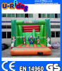 Animal Park Theme Inflatable Jumper with Slide