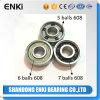 Five Balls Bearings Hybrid Ceramic Ball Bearing 608 for Skateboard