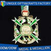 Promomtion Metal Medal with Silver Plating Made in China