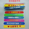 Fashion Product Silicone Band Slap Bracelet (ABB-015)