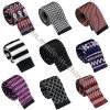 Popular Promotional Jacquard Cartoon Skinny Knit Ties