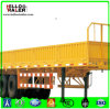 Tri-Axle Bulk Cargo Truck Trailer 50t Loading Cargo Box Semi Trailer