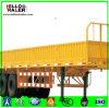 Tri-Axle Bulk Cargo Truck Trailer 50t Loading Cargo Box Semi Trailer