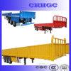 Three-Axis Truck Trailer/ Cargo Semi Trailer with Side Wall