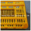 PE Material Chicken Transportation Cage