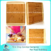 Beautiful Large 100% Organic Bamboo Cutting Board with Juice Groove