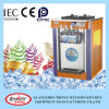 Three Flavor Painting Tabletop Soft Serve Ice Cream Machine