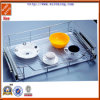 Kitchen Wire Dish Rack Mesh Glide Basket for Cup and Plate (WKB30016)