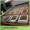 Special Shape Glass Wih Grey Silk Screen Printing