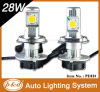 IP68 Hi/Lo Beam 9007 H13 9004 Car H4 LED Headlights