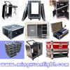 Aluminum Case Flight Case with Wheels Road Case, DJ Flight Case Equipment Case, TV Flight Case Ys-1108