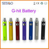 Seego Patented Ghit Series Electronic Cigarette Wholesale Mod EGO Evod Passthrough Battery with High Capacity