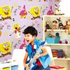 Beautiful Design Colorful Carton 3D Kids Wallpaper for Kids Bedroom