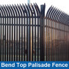 Bend Top Palisade Fence/ Top Bend Palisade Fencing / Curve Palisade Fencing