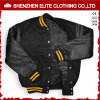 Outdoor Ma-1 Garment Bomber Jacket with Leather Sleeve (ELTBQJ-530)