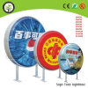 Double Side Vacuum Forming Round Light Box