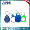 Plastic Small ID Key Chain RFID Keyfob for Hotel Lock